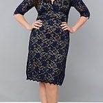 LB scalloped boudoir lace dress