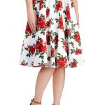 Modclothprinted skirt