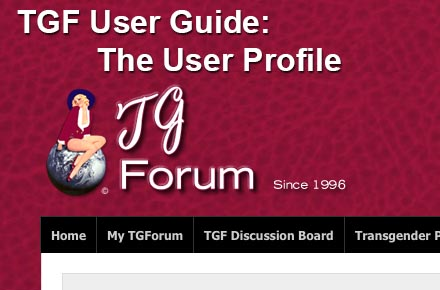 Using TGF Features -- Your Profile