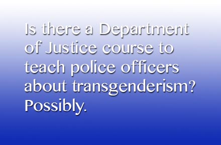 Mysteries: Police Training Courses on Transgenderism