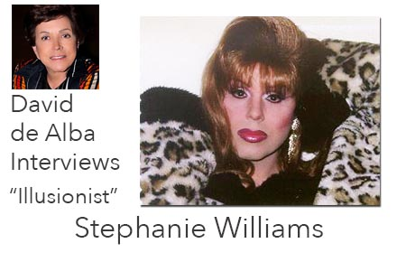 David de Alba Interviews Stephanie Williams
