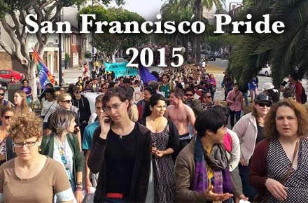 San Francisco Pride 2015 was Trans-inclusive