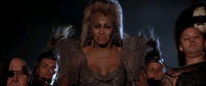 The Artist D ... er, Tina Turner in Thunderdome