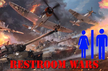 Dispatch From The Restroom Wars
