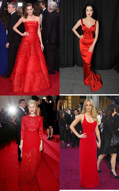 selection of beautiful red gowns1