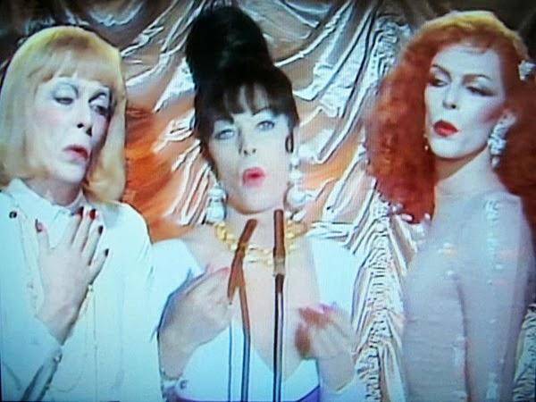 Three Bowies in Boys Keep Swinging.