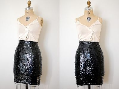 Mix and match with sequins