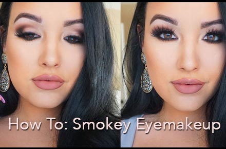 How to Get a Glamorous Smokey Eye Look