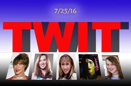 The Week In Transgenderism 7/25/16