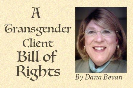 A Transgender Client Bill of Rights