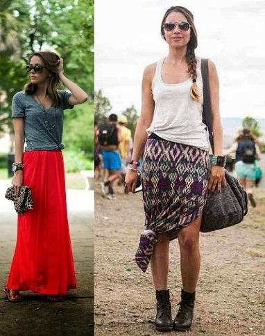 casual and beach wear of maxis