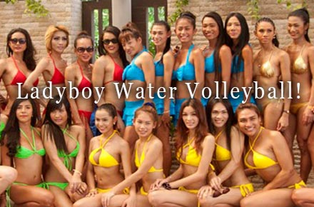 Ladyboy Water Volleyball is Back!