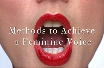 Transgender Voice Modification Therapy