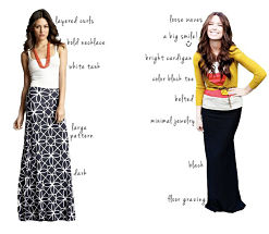 spring and summer looks for the maxi