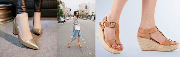 shoes with platform heels