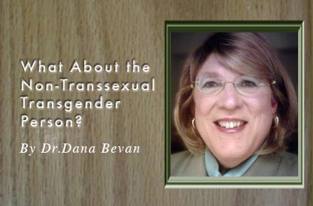 How are the Non-Transsexual Transgender People Faring?