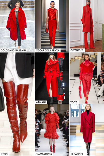 red trend for 2017