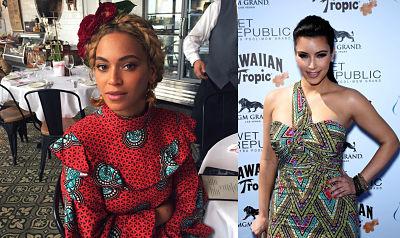 Beyonce and Kim Kardashian