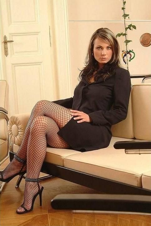 Mature women wearing tights