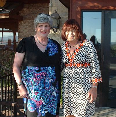 Tasi and Anna Marie in El Paso