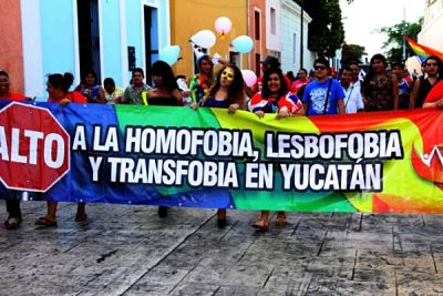 pride parade in merida mx