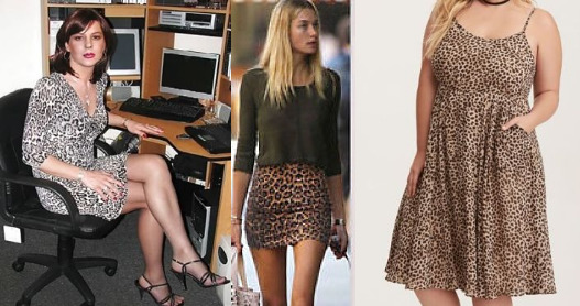 Leopard skirts and dresses