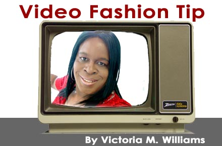 Video Fashion Tip -- Don't Borrow, Buy Your Own Clothes