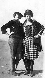 Crossdressed Couple1922