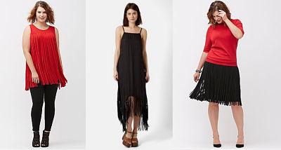 fringe skirt dress top