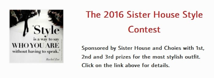 Sister House style contest