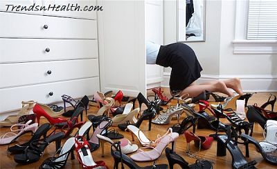 many types of shoes
