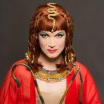 Busch as Cleopatra
