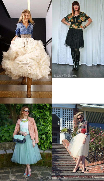 tulle skirt combinations 1