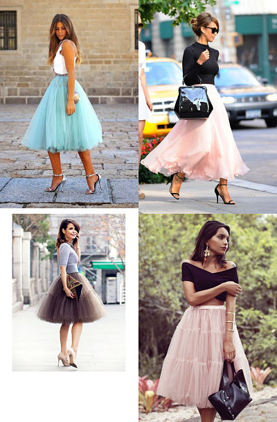tulle skirt combinations 3