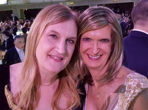 Jennifer Finney Boylan with Christine.