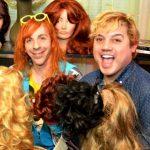The Wig Bank gang.