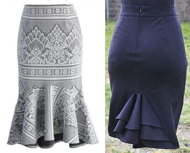 ruffled skirts