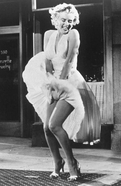 Marilyn-Monroe-subway dress