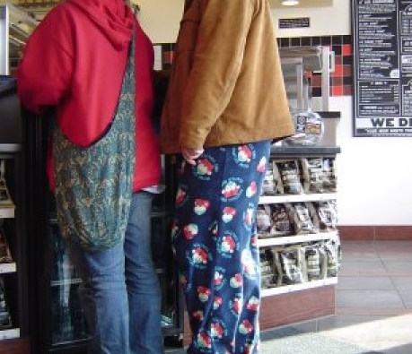 Cows. Monkeys. Still pajama pants.