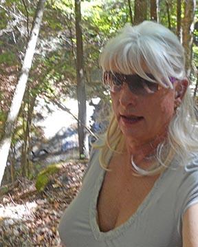 Linda in the Berkshires.