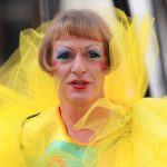 Grayson Perry as Claire.