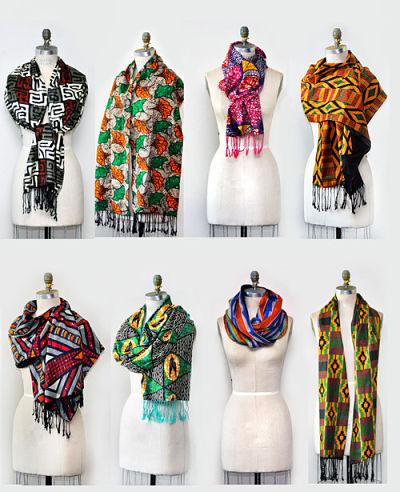 ankara scarves
