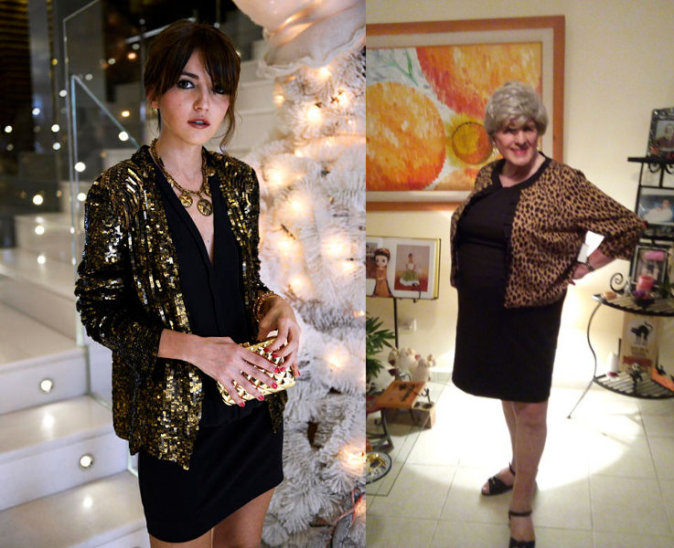 festive LBD outfits