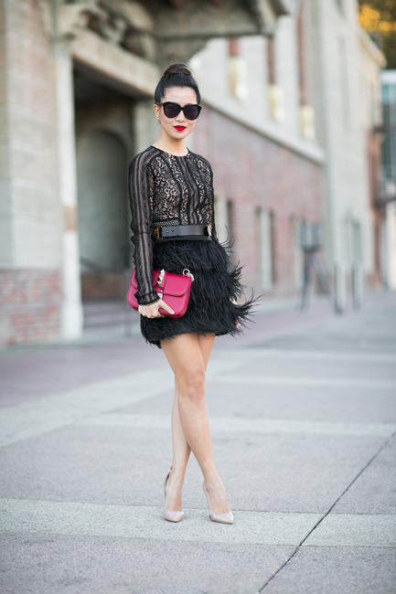 feathers-lace