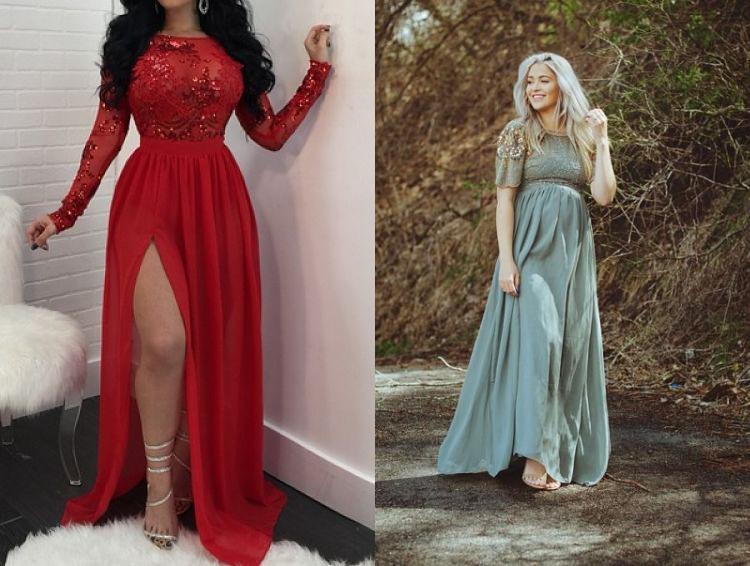 festive maxi dresses