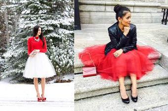 festive tulle skirts